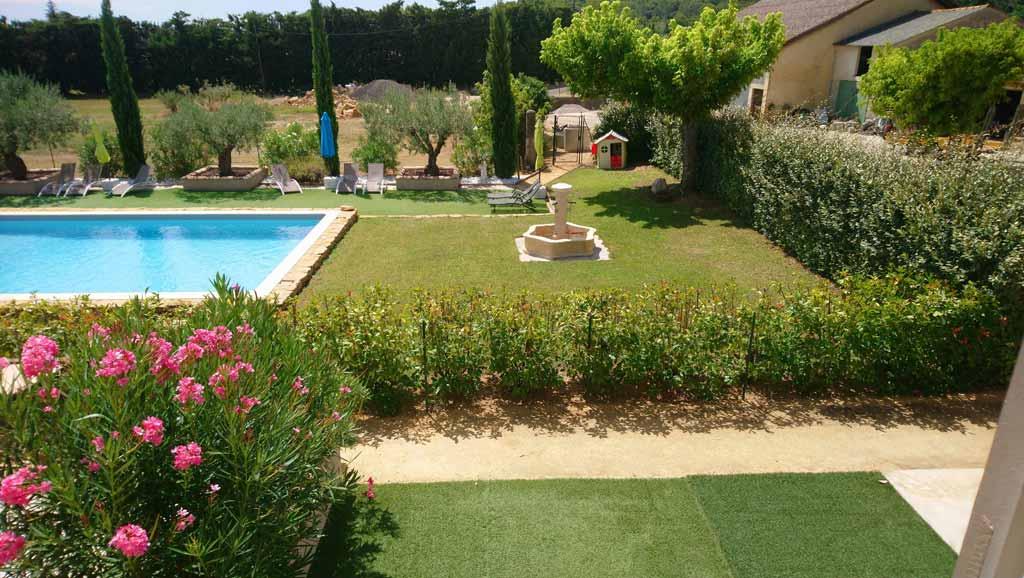 Gite avec piscine orange vaucluse gites 4 5 et 7 personnes Gite de france vaucluse avec piscine